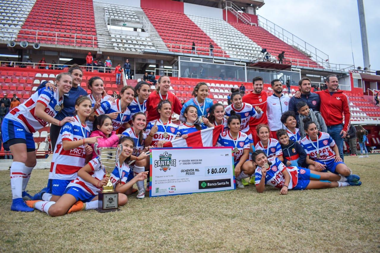Unión campeón fútboll femenino