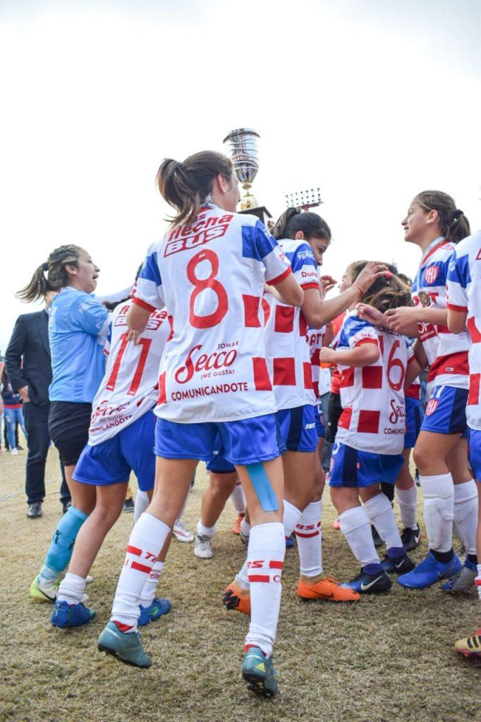 Unión campeón fútbol femenino