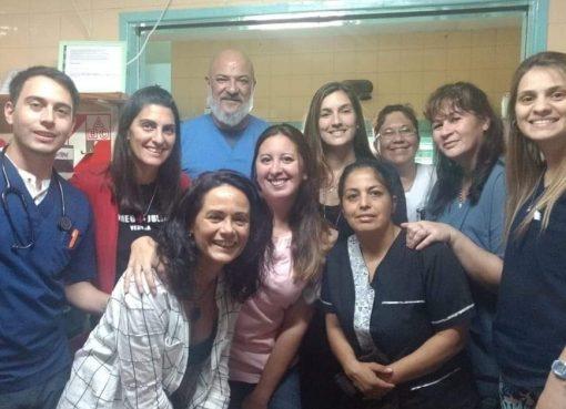 """Natalia Soria y el equipo de """"El Chapa"""""""
